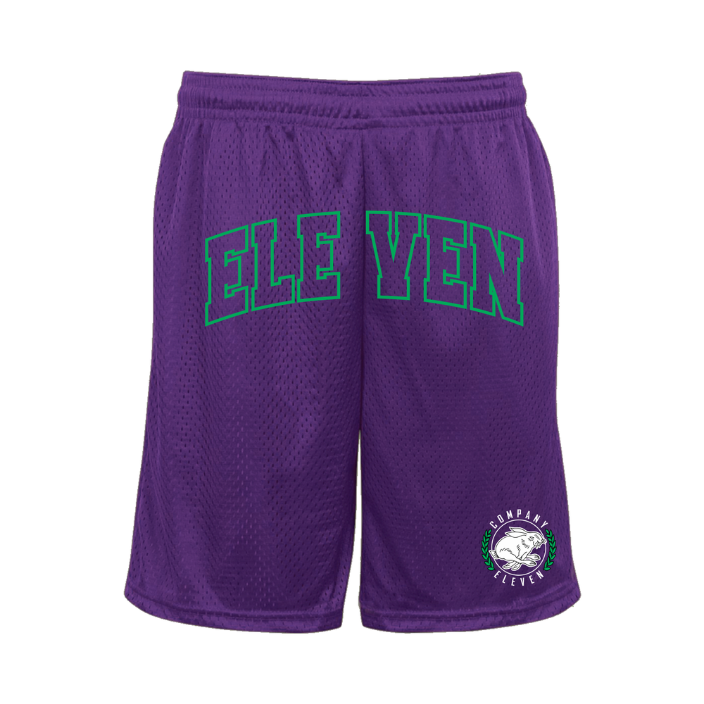 Image of Grape Mesh Shorts (P)