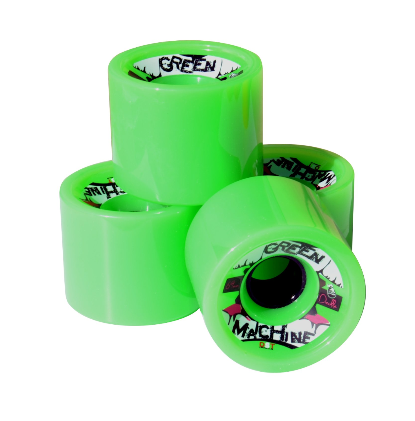 Image of Deville Green Machine Wheels - 69mm (Set of 4)