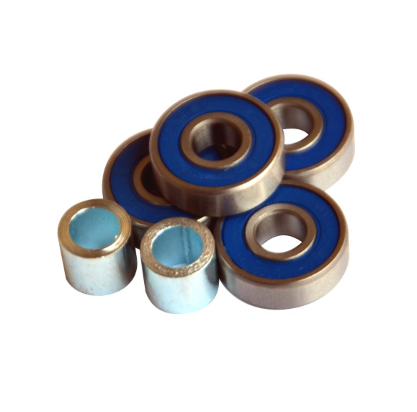 Image of 8mm X 22mm - Scooter Bearings (Set of 4/ Royal Blue)