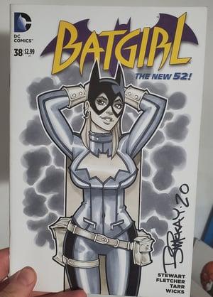 Batgirl Copic Marker Sketch 1/1