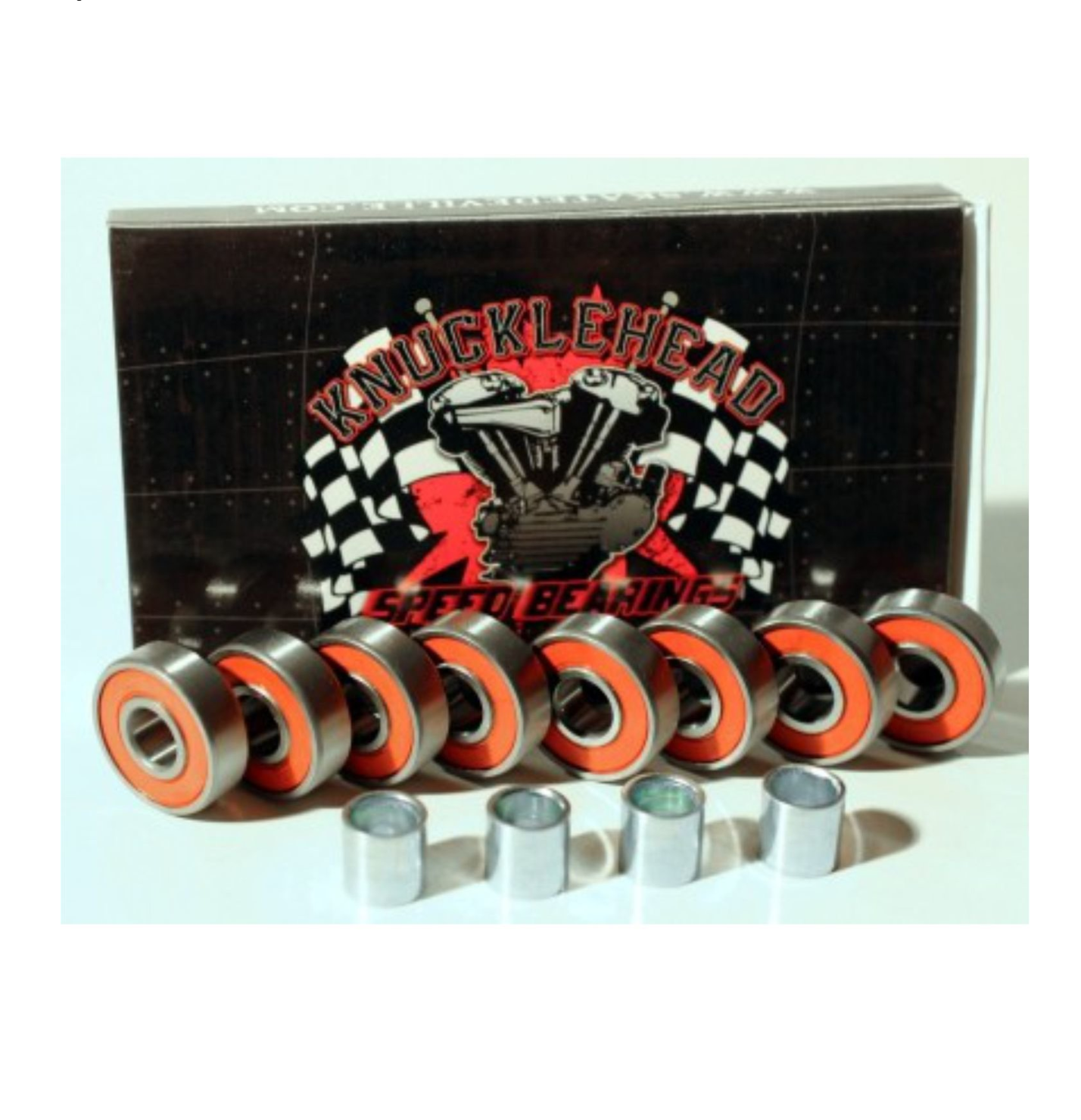 "Image of Deville Bearings - 8X22mm O.D. - Set of 8 - ""Knucklehead"""