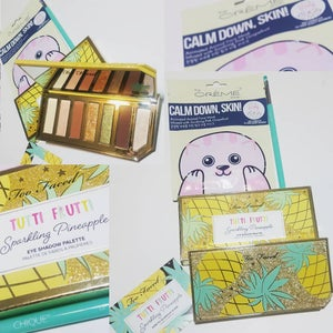 Image of Too Faced Sparkling Pineapple Eyeshadow Beauty Bundle