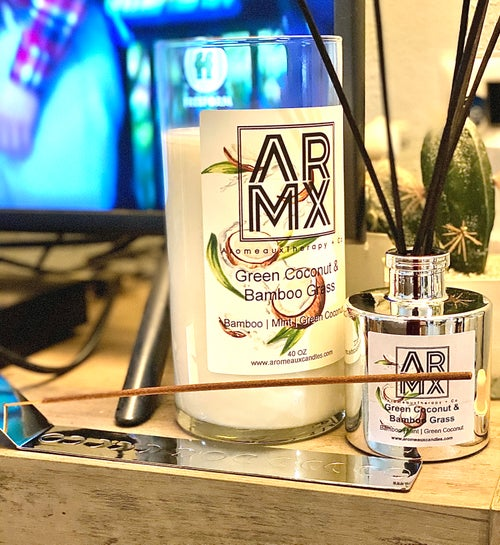 Image of  NEW! ARMX 40oz XXL CANDLES