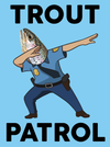 Team Dub Sticker Pack -  Trout Patrol Party Pack 2: Trouts on Patrol