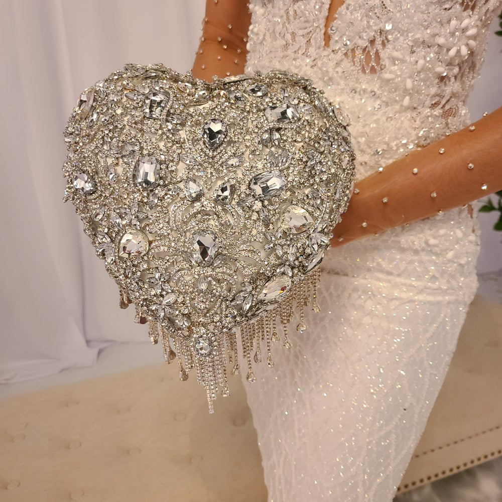Bling Heart Bouquet