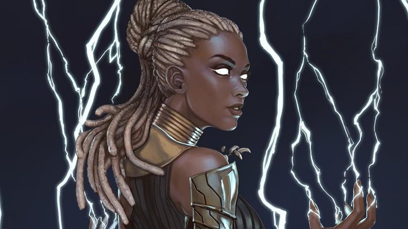 Image of Wakandan Goddess Storm