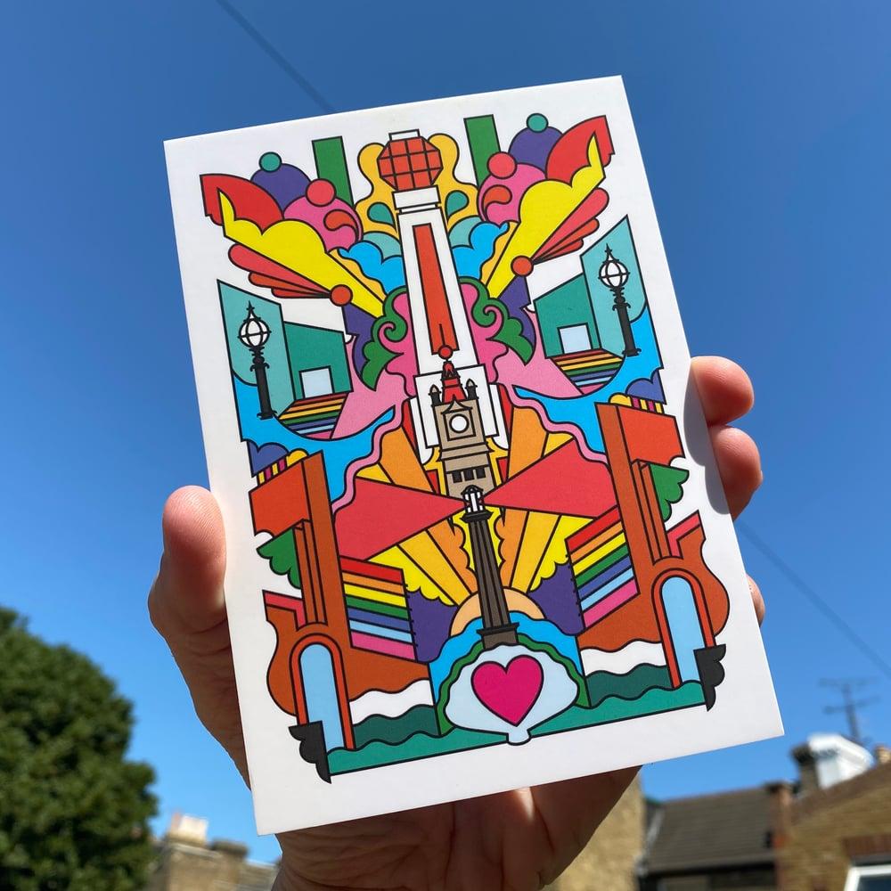 Margate? Margreat! Postcard Mini Print - FREE SHIPPING