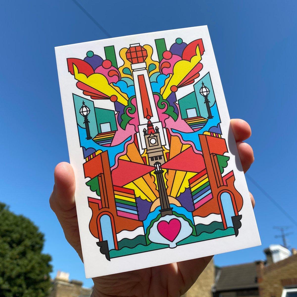 Image of Margate? Margreat! Postcard Mini Print - FREE SHIPPING