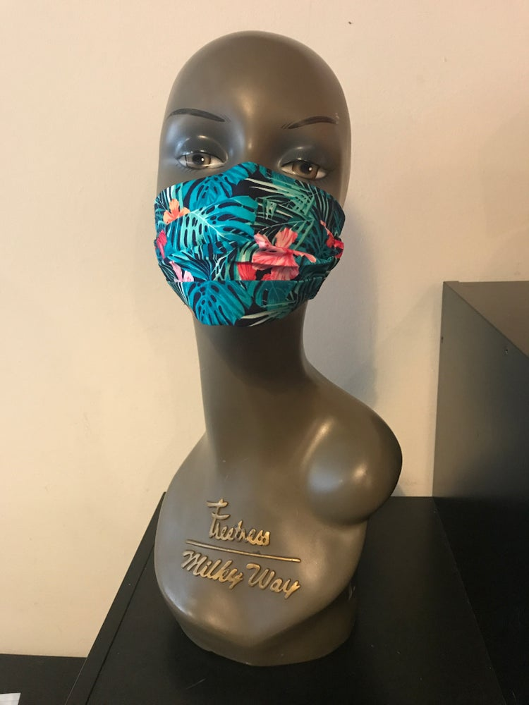Image of Tropicana face mask (2colours)