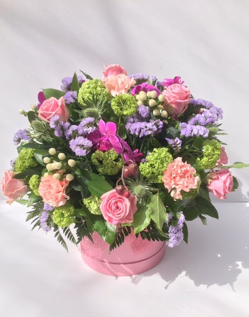 Image of Florist Choice Hatbox