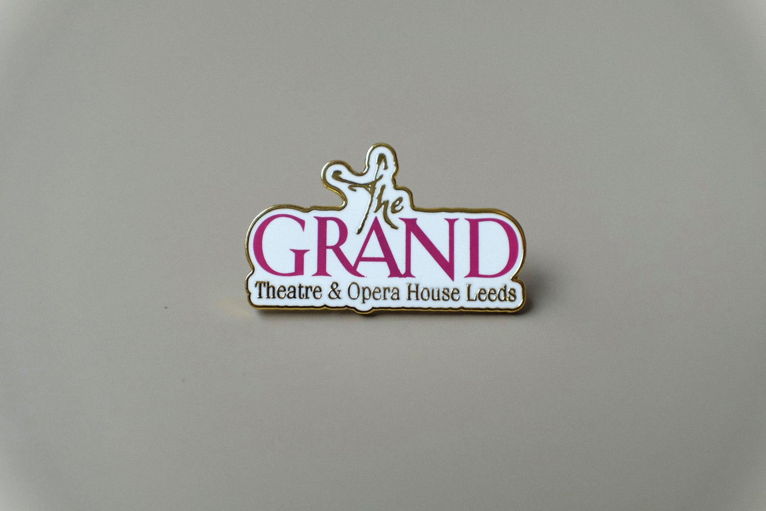 Image of Pin Badge   Leeds Grand Theatre and Opera House