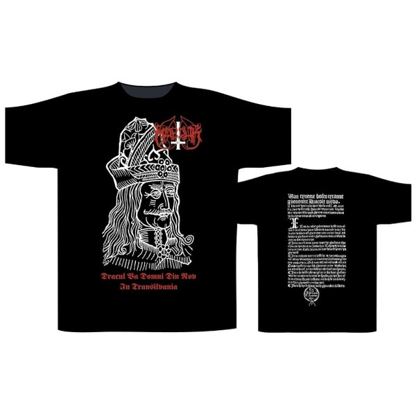 Image of Marduk - Dracul T-shirt