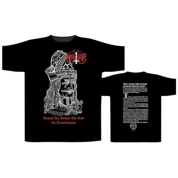 Image of Marduk - Dracul T-shirt