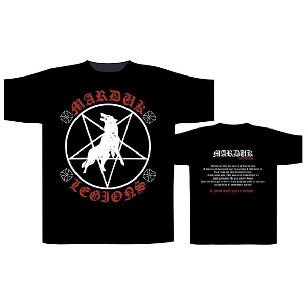 Image of Marduk - Marduk Legions T-shirt