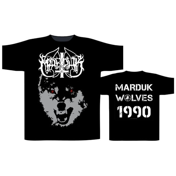 Image of Marduk - Wolves 1990 T-shirt