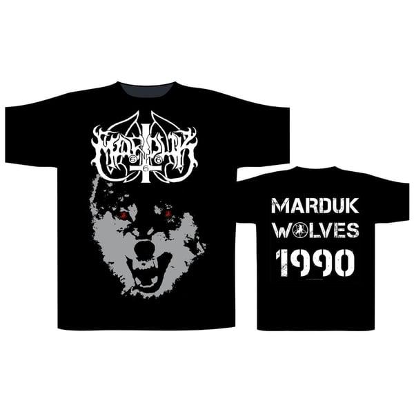 Image of Marduk - Wolves 1990 T-shirt