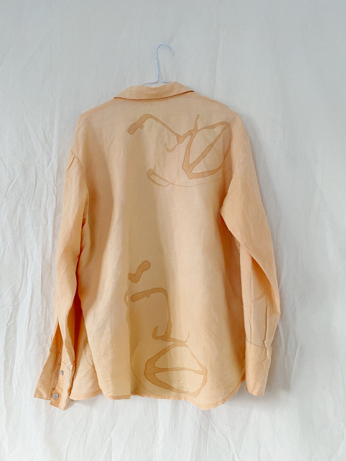Image of peachy peachy shirt