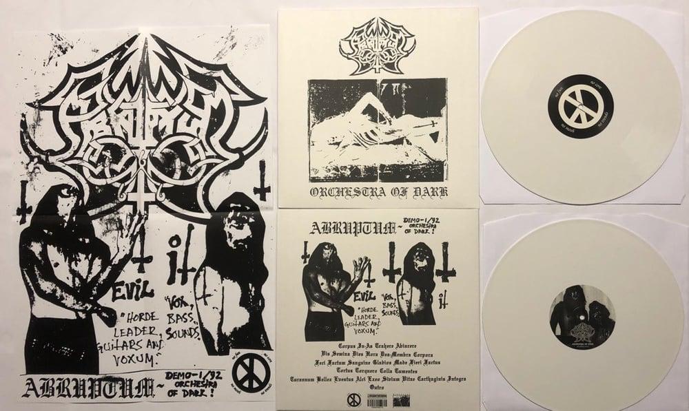 Image of Abruptum - Orchestra Of Dark White LP