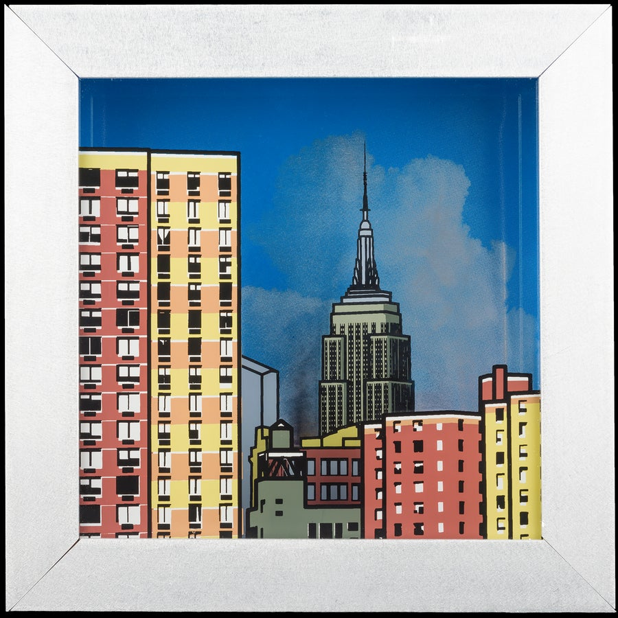 Image of Manhattan View #1 glass