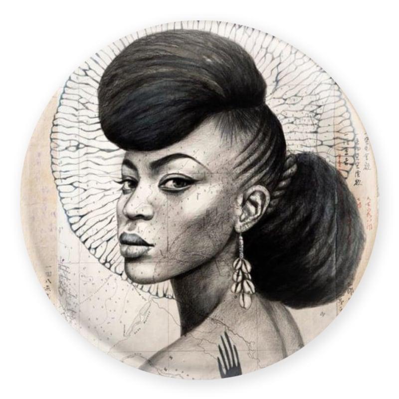 """Image of Magnet - """"Trinidad en N&B"""""""