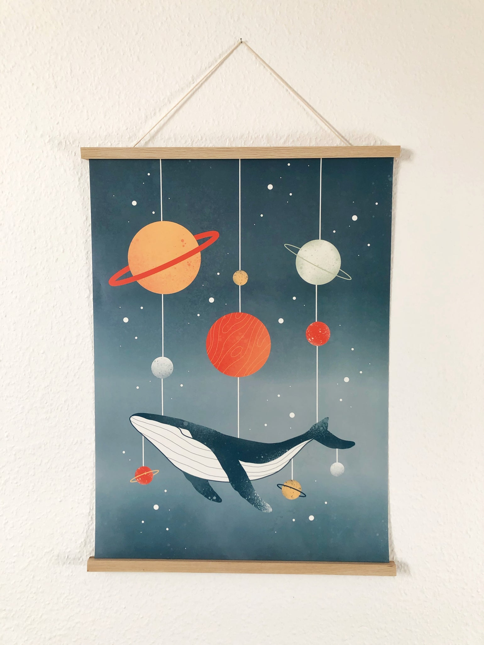 Image of Space Whale poster