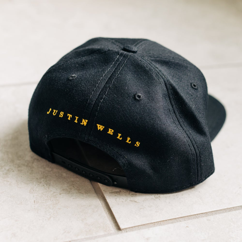 "Justin Wells Yellow ""The United State"" Hat"