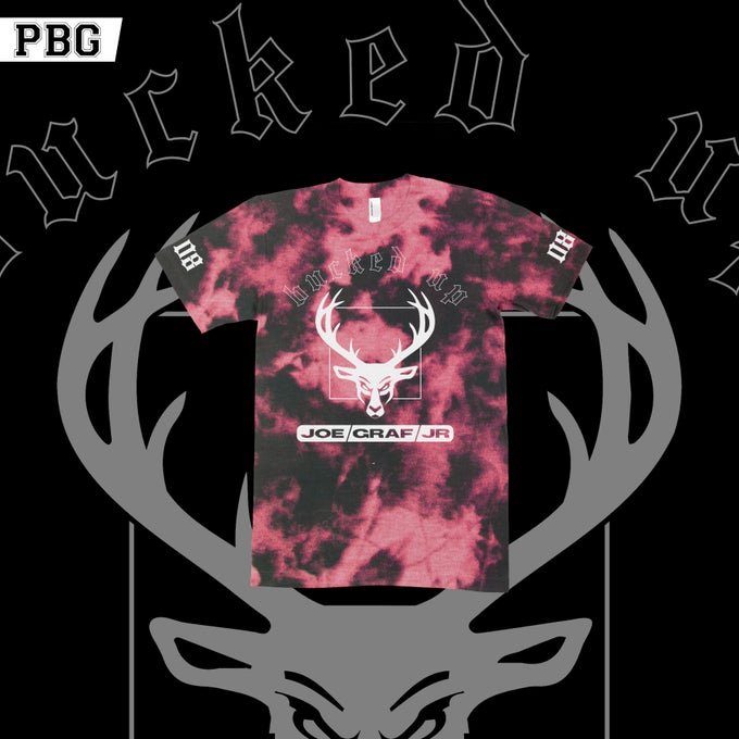 "Image of Joe Graf Jr. ""Buck Season"" Bleach shirt"