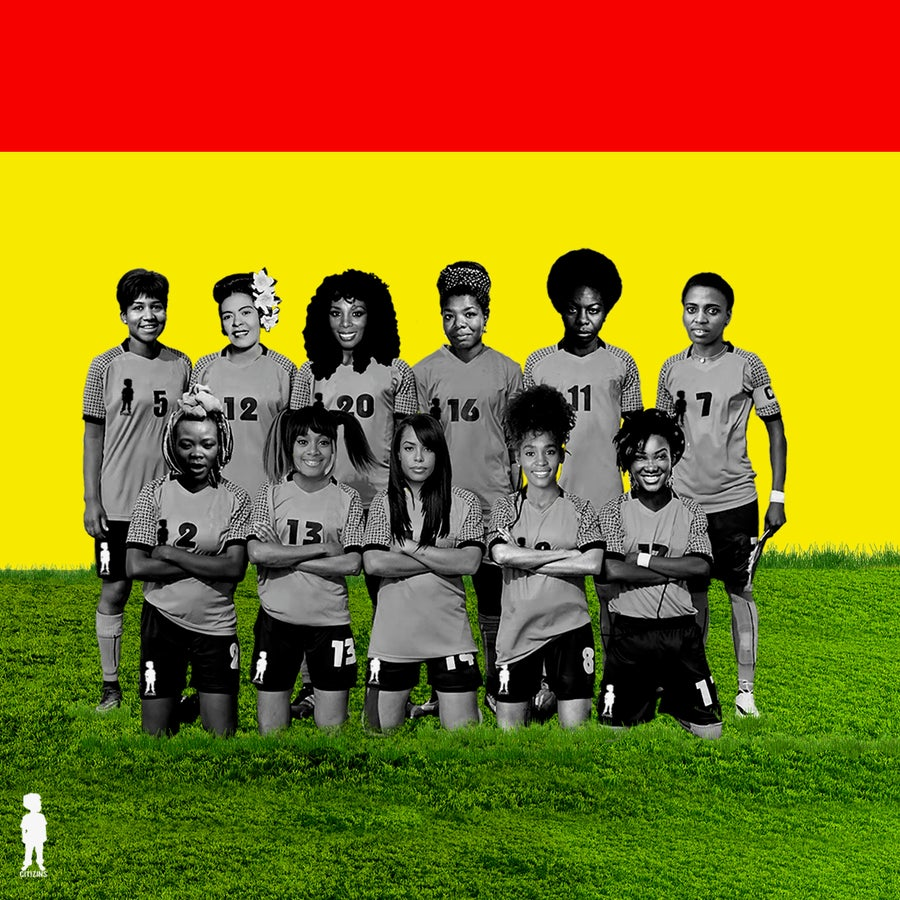 Image of GAL DEM UNITED FC | PRINTS AND POSTERS