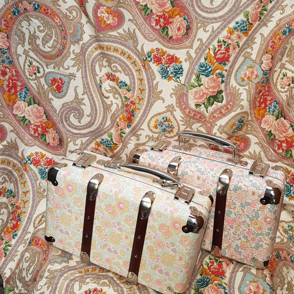 Image of Liberty Petite Valise Suit case - Betsy Lemoncreme