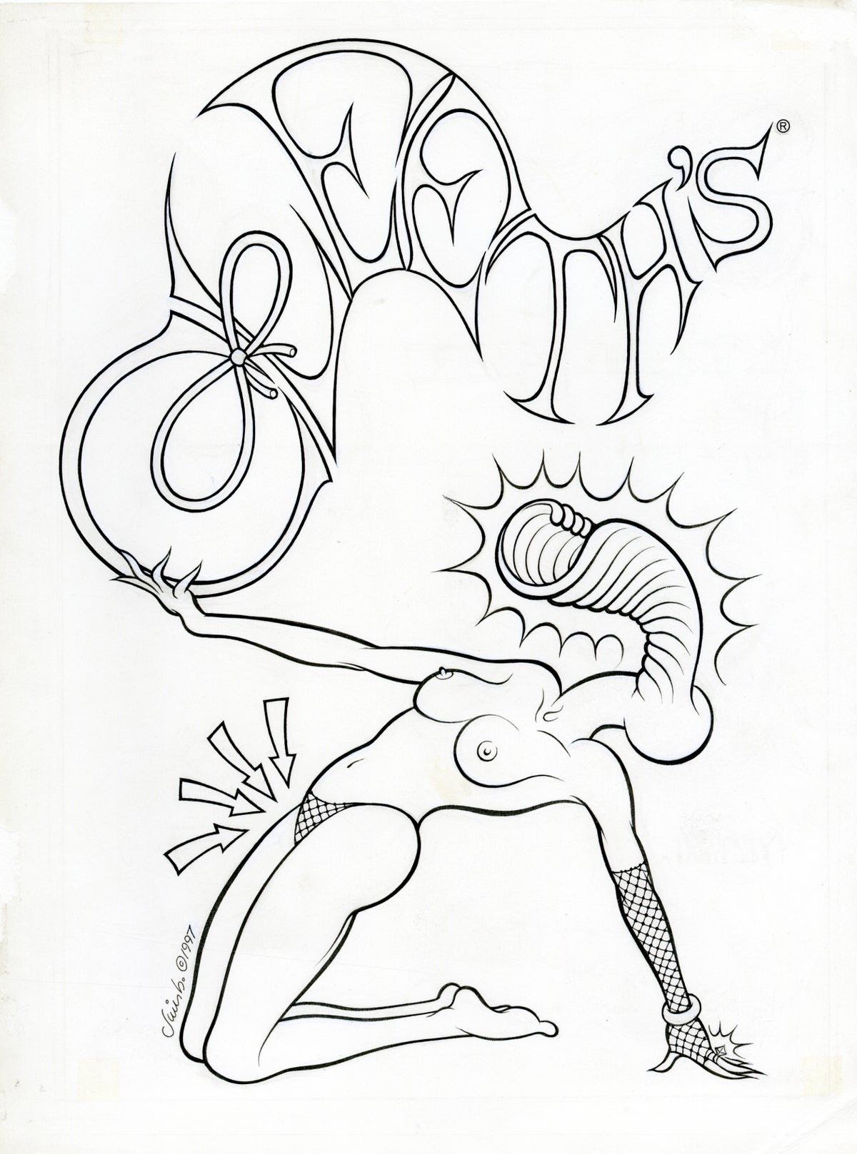 Image of CLEETH'S ink original