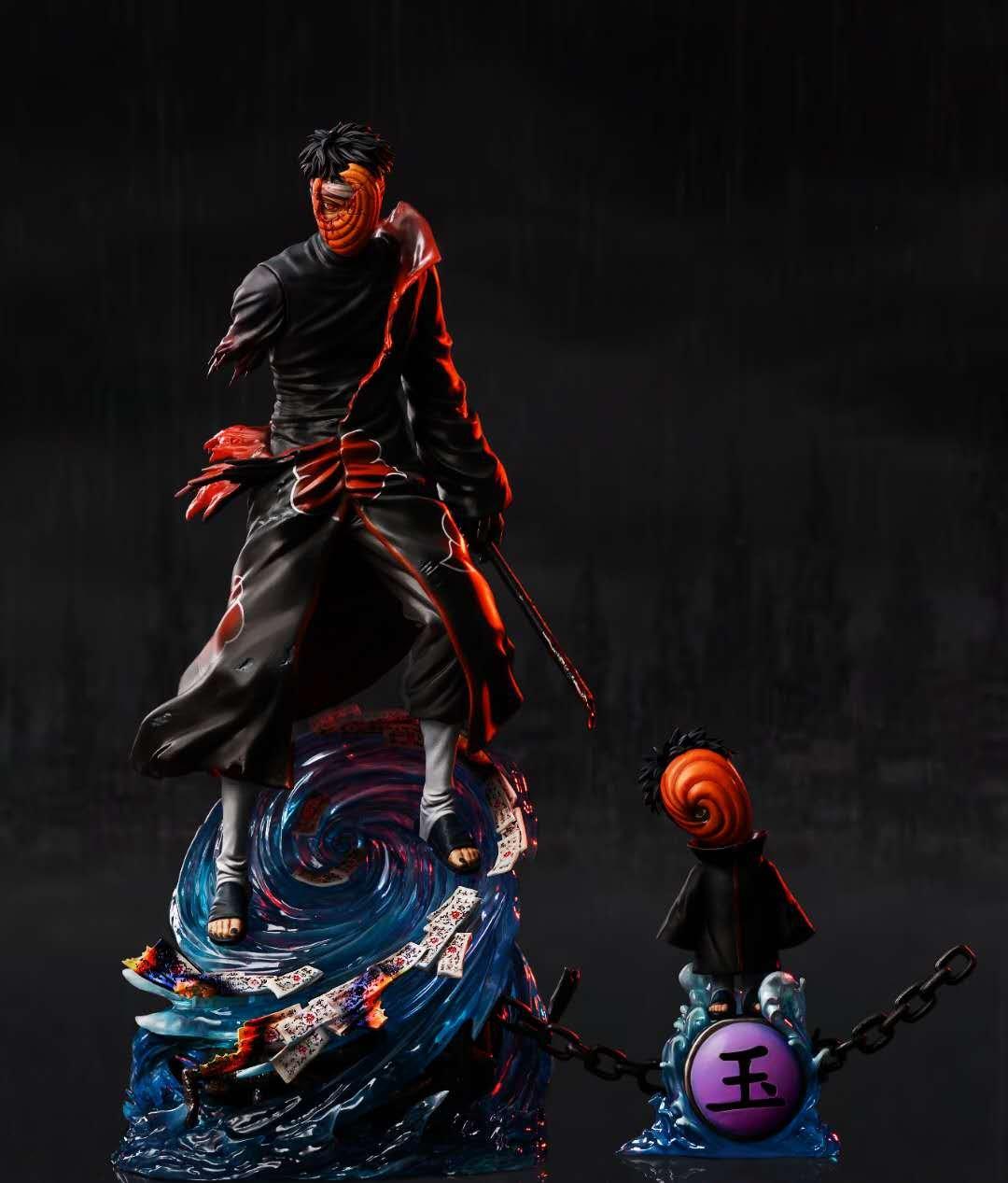 Image of [Last-Stock]Naruto CW Studio Battle Damaged Series Vol.1 Tobi Resin Statue