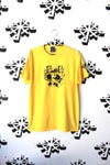 move something tee in yellow