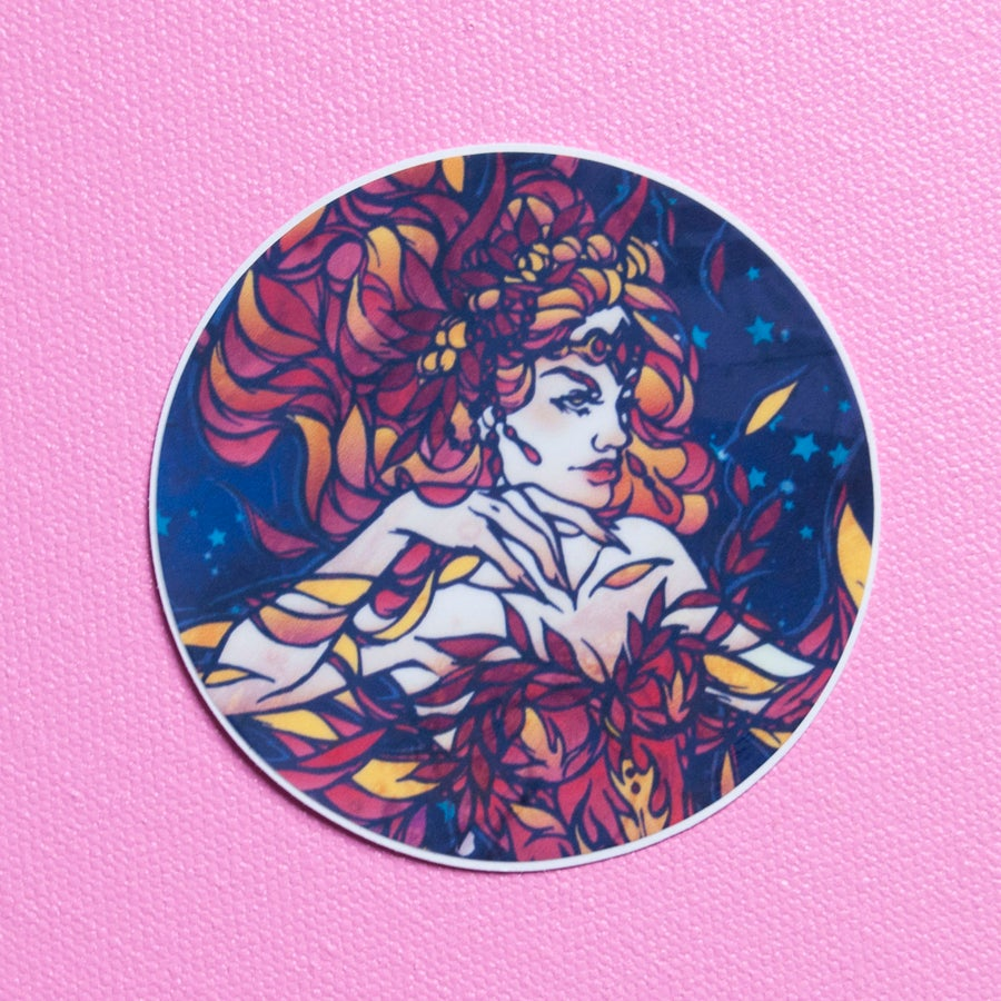 Image of Flame Witch Sticker