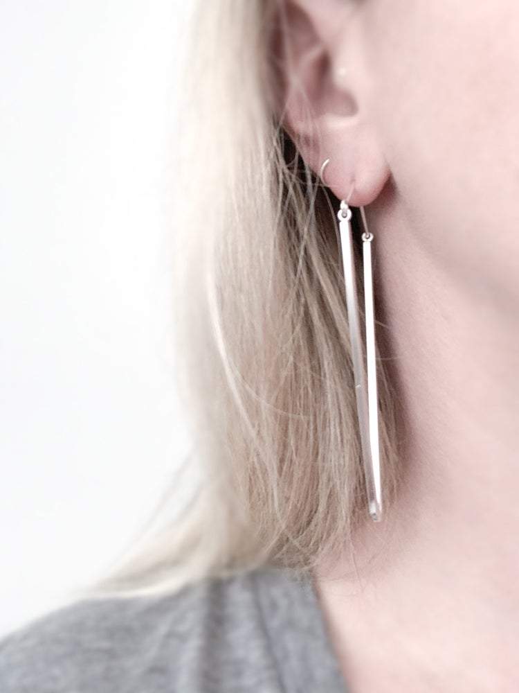Image of Widow's Peak Earrings - Large