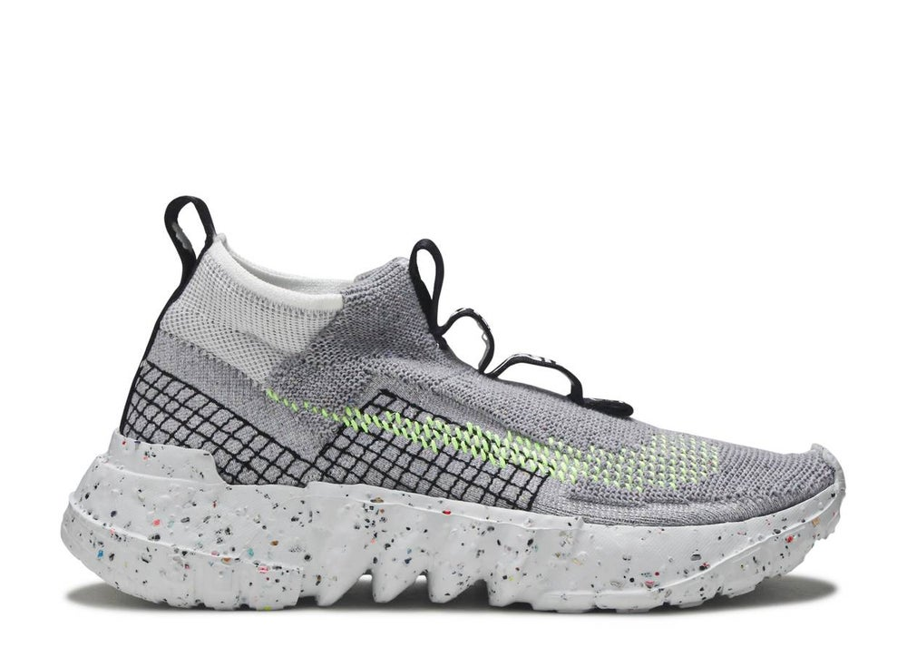 Image of NIKE  SPACE HIPPIE 02 'GREY VOLT'