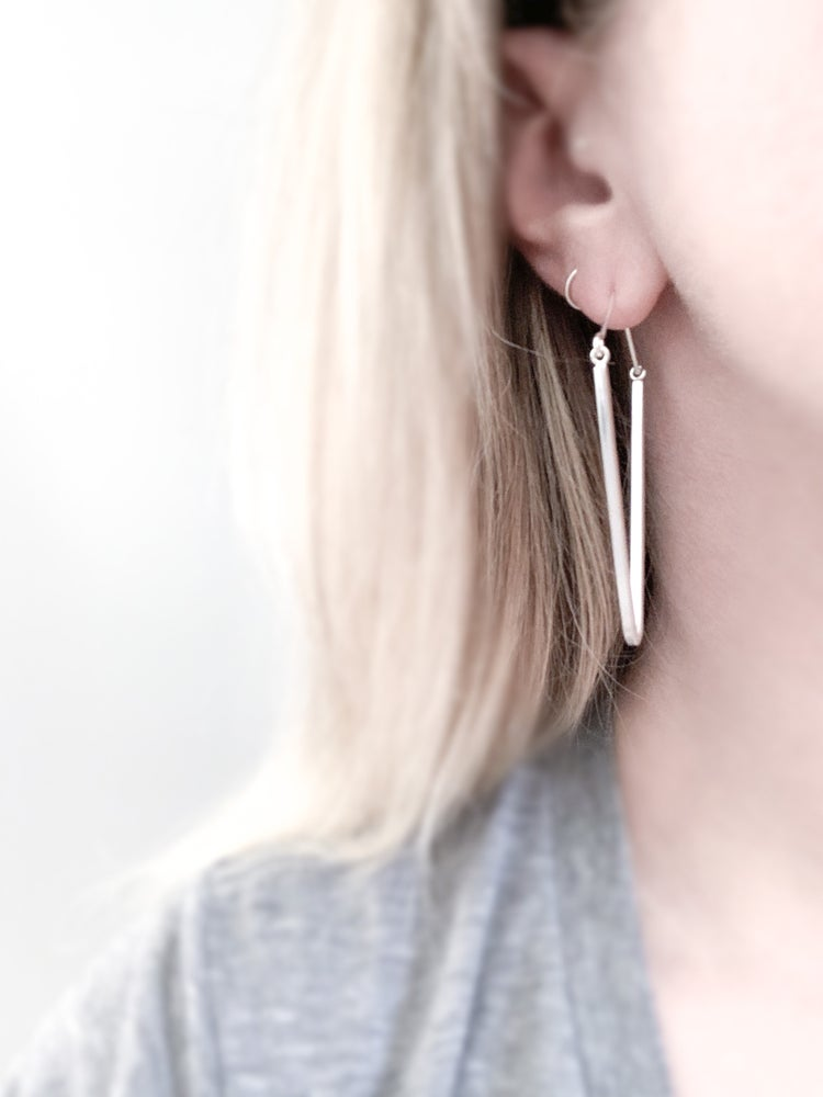 Image of Widow's Peak Earrings - Small