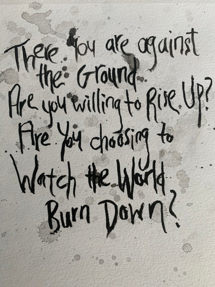 Image of Personalized Handwritten Lyric Art