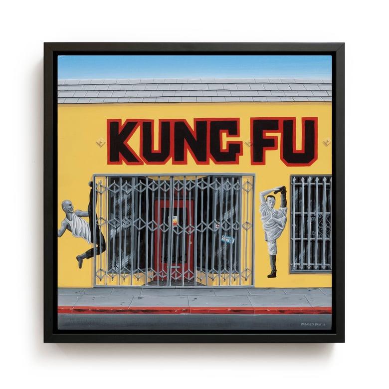 "Image of ""Kung Fu"" Original Painting"