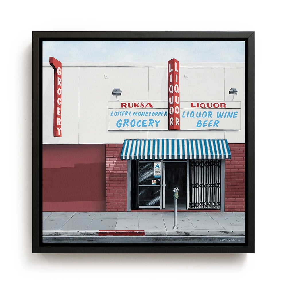 "Image of ""Ruksa Liquor Store"" Original Painting"