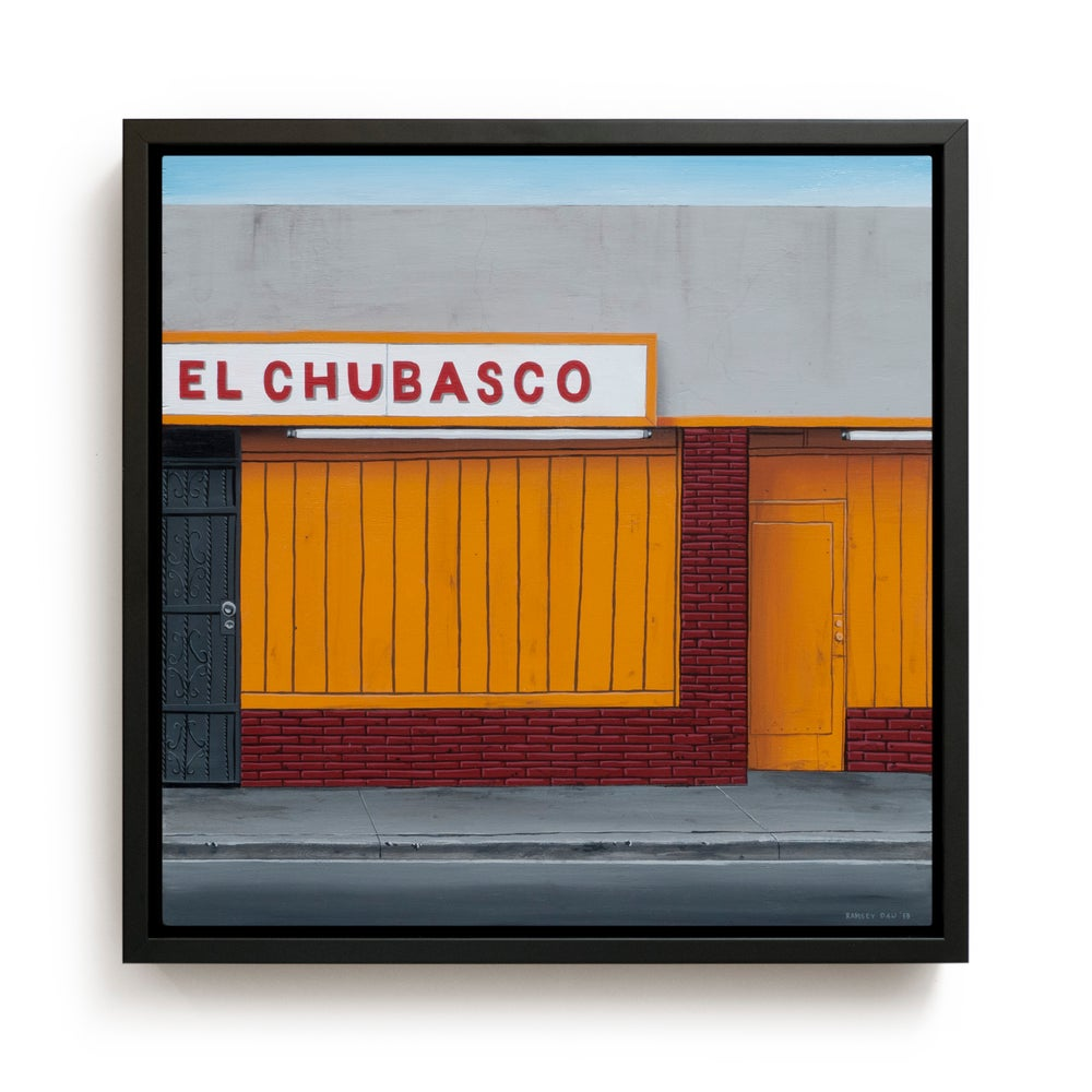 "Image of ""El Chubasco"" Original Painting"