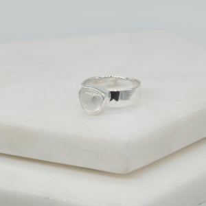 Image of Trillion Moonstone Ring