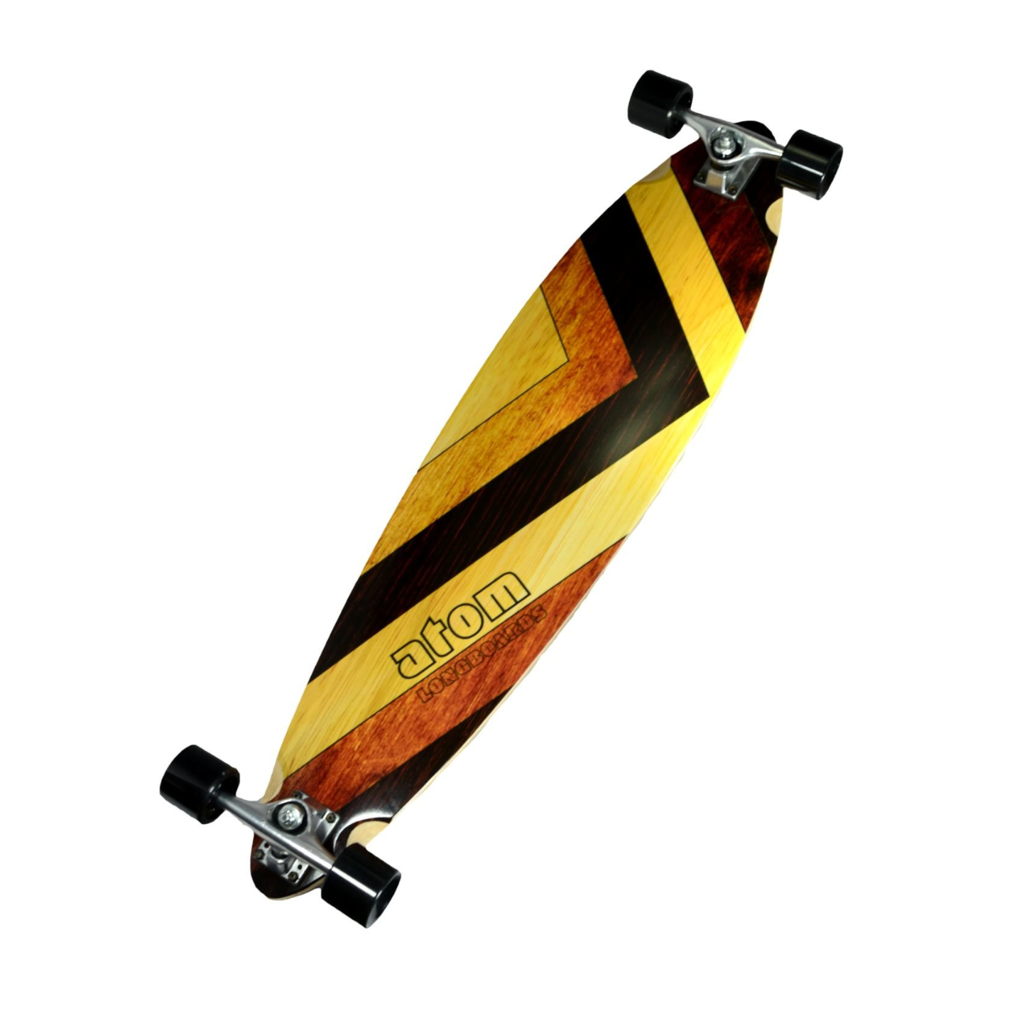 Image of Atom Pintail Longboard - 39 Inch (Woody)