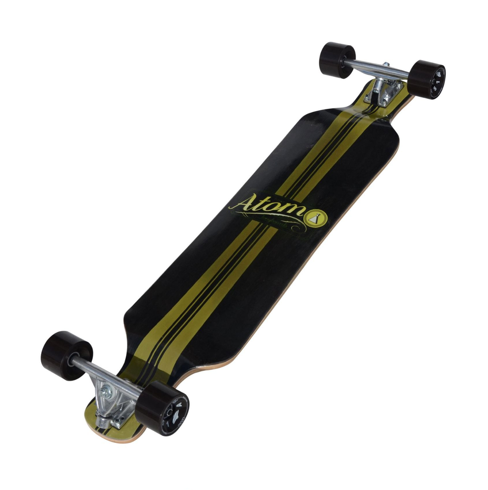 Image of Atom Micro Drop Deck Longboard - 39 Inch (Artisan Brown)