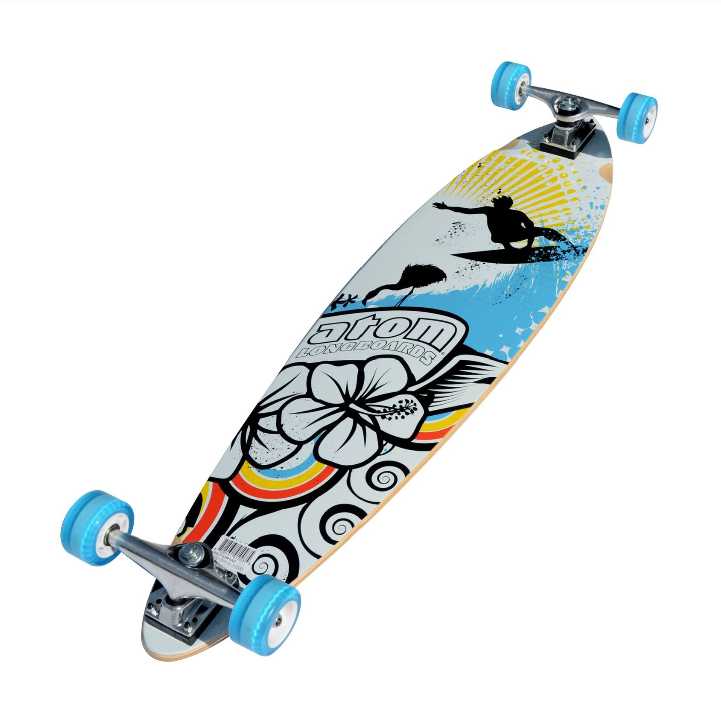Image of Atom Pin-Tail Longboard - 39 Inch (Surf)