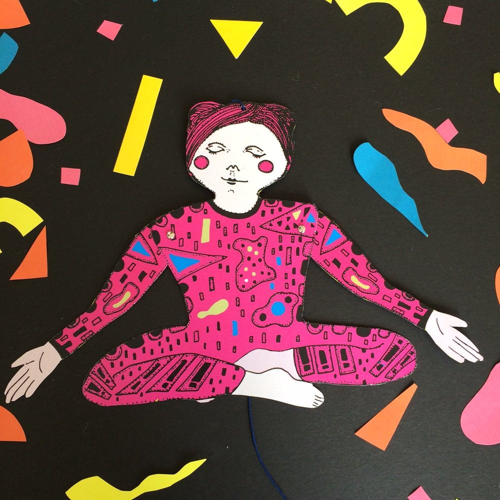 Yoga Lady Hampelmann DIY Kit