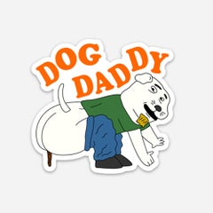 Dog Daddy sticker - Sick Animation Shop