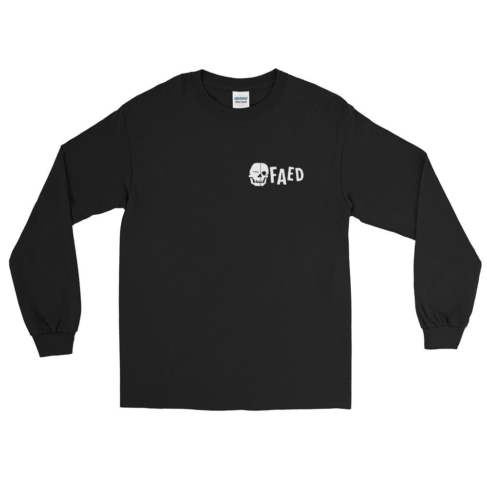 Thank You For Raging Long Sleeve Shirt (Black)