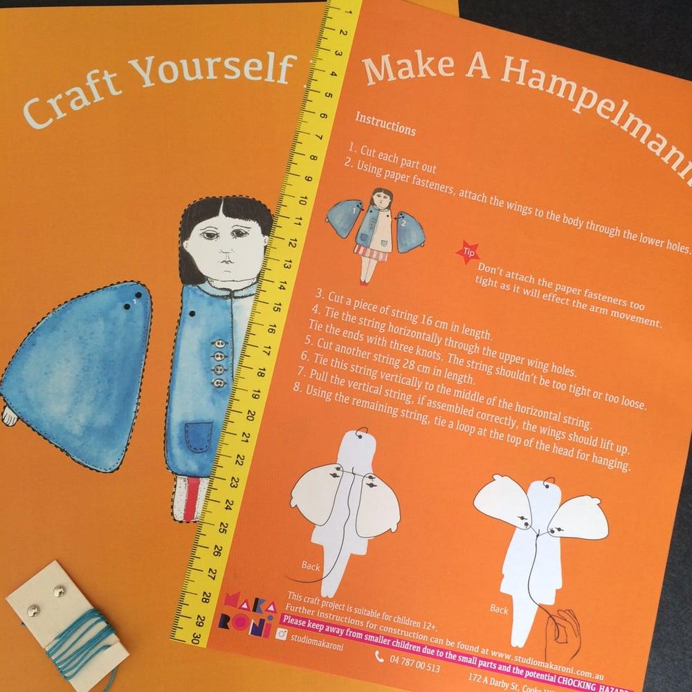Angel Lady Hampelmann DIY Kit