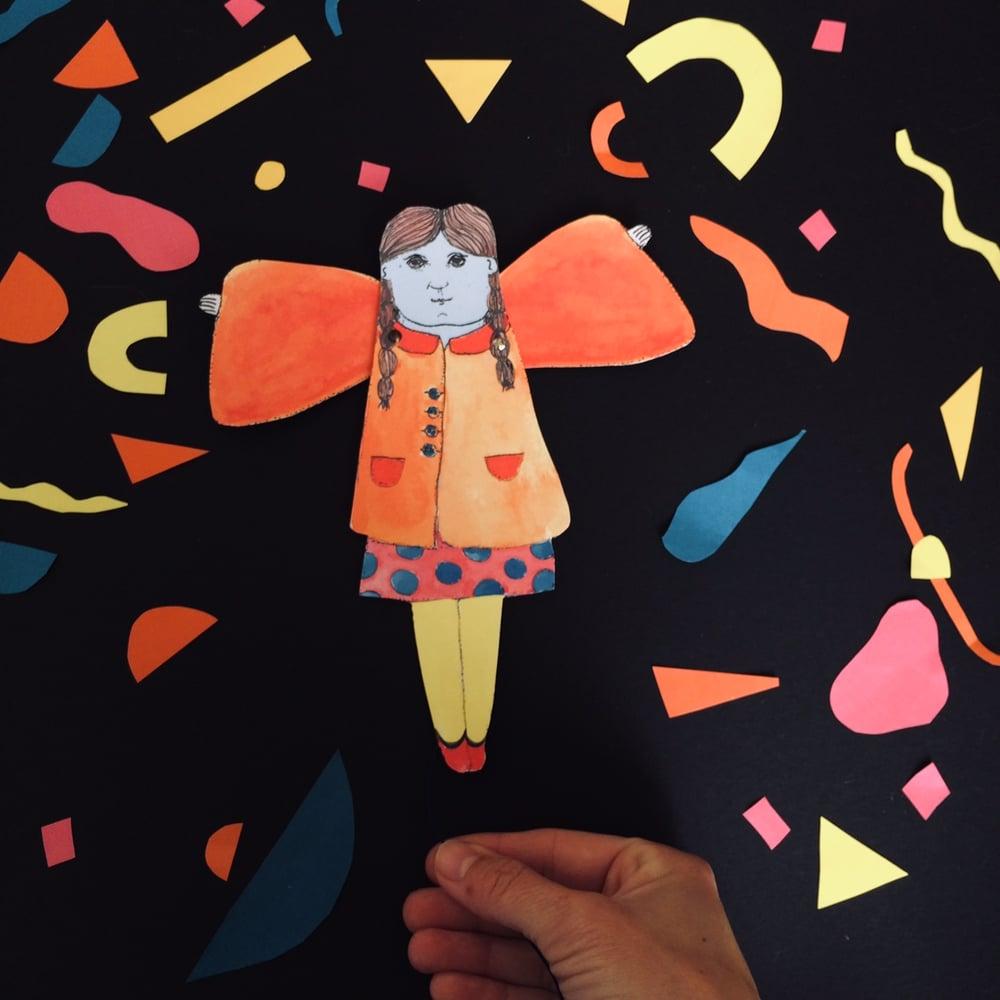 Angel Girl Hampelmann DIY Kit