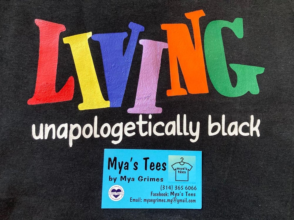 LIVING UNAPOLOGETICALLY BLACK (Short Sleeve)